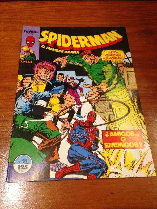 SPIDERMAN VOL 1 Nº 91. FORUM 1986. SAVIUK. BAGLEY. MILGROM. MCFARLANE. BUSCEMA. (Tebeos y Comics - Forum - Spiderman)