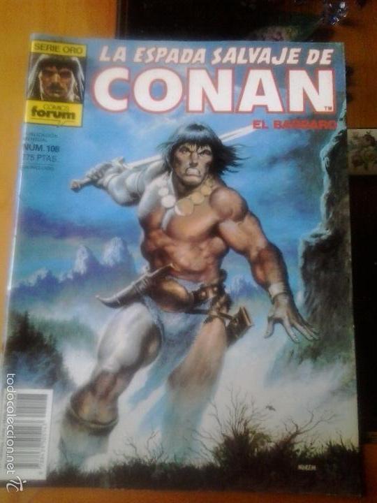 LA ESPADA SALVAJE DE CONAN Nº 108 - EDITORIAL PLANETA DE AGOSTINI (Tebeos y Comics - Forum - Conan)