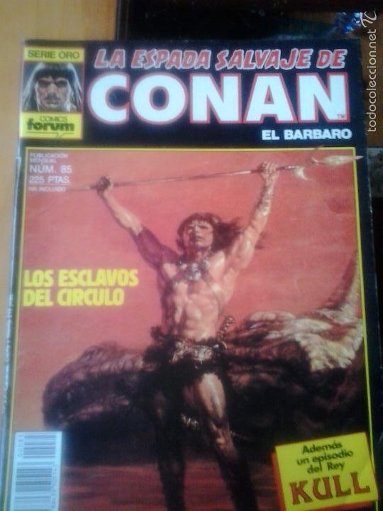LA ESPADA SALVAJE DE CONAN Nº 85 - EDITORIAL PLANETA DE AGOSTINI (Tebeos y Comics - Forum - Conan)