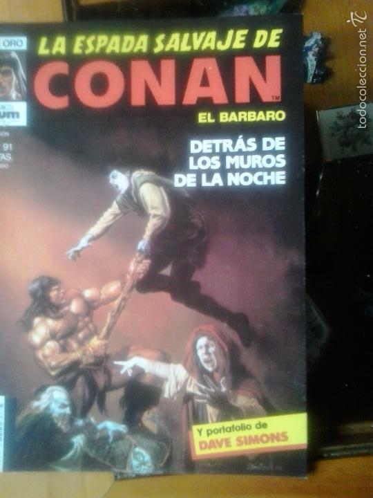LA ESPADA SALVAJE DE CONAN Nº 91 - EDITORIAL PLANETA DE AGOSTINI (Tebeos y Comics - Forum - Conan)