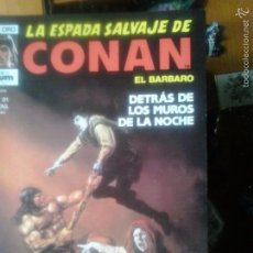 Cómics: LA ESPADA SALVAJE DE CONAN Nº 91 - EDITORIAL PLANETA DE AGOSTINI. Lote 55718782