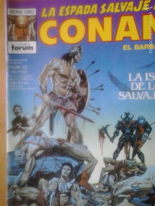 LA ESPADA SALVAJE DE CONAN Nº 53 - EDITORIAL PLANETA DE AGOSTINI (Tebeos y Comics - Forum - Conan)