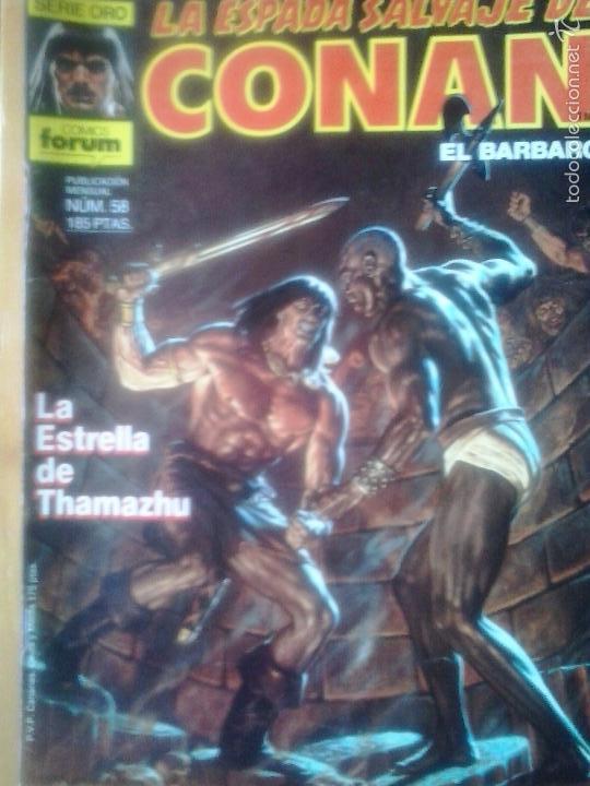 LA ESPADA SALVAJE DE CONAN Nº 58 - EDITORIAL PLANETA DE AGOSTINI (Tebeos y Comics - Forum - Conan)