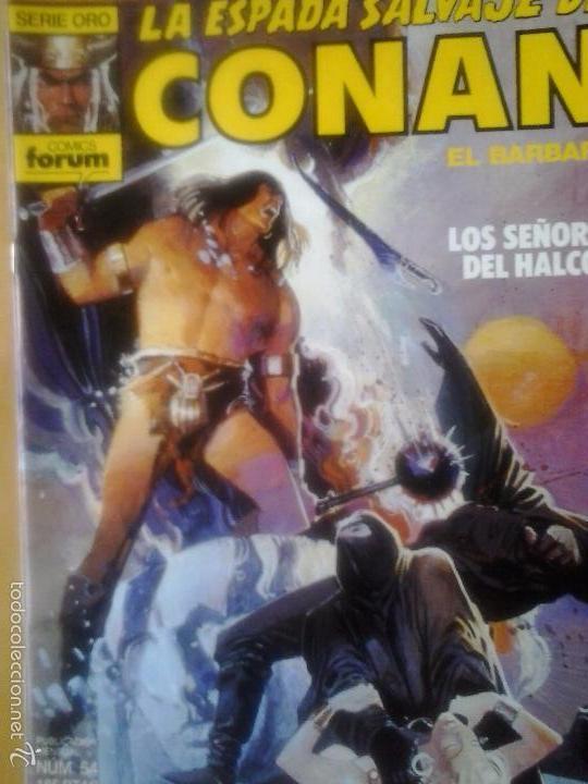 LA ESPADA SALVAJE DE CONAN Nº 54 - EDITORIAL PLANETA DE AGOSTINI (Tebeos y Comics - Forum - Conan)