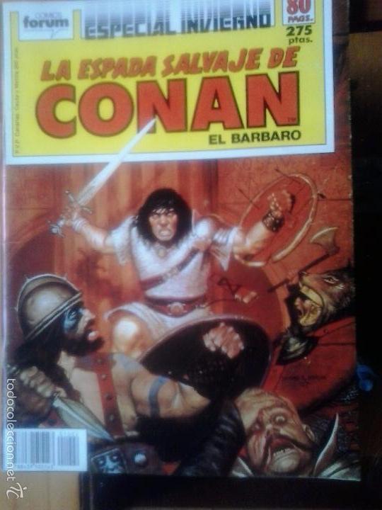 LA ESPADA SALVAJE DE CONAN ESPECIAL INVIERNO - EDITORIAL PLANETA DE AGOSTINI (Tebeos y Comics - Forum - Conan)