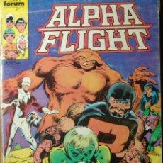Cómics: ALPHA FLIGHT VOL1 DE FORUM RETAPADO Nº 1 AL 5. Lote 55793142