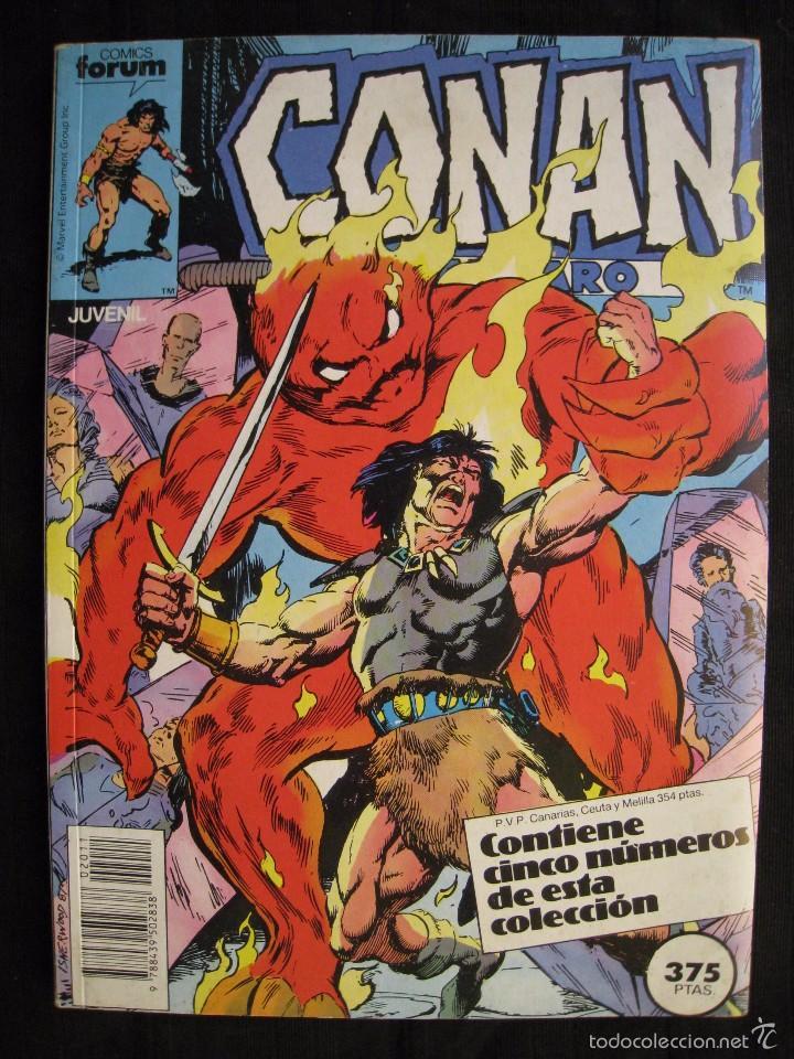 CONAN EL BARBARO - RETAPADO - DEL Nº 141 AL 145 - FORUM. (Tebeos y Comics - Forum - Retapados)