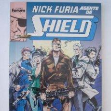 Cómics: RETAPADO NICK FURIA AGENTE DE SHIELD Nº 1 - FORUM. CONTIENE LOS NUMEROS 1 A 5 DE LA COLECCION.. Lote 55819947