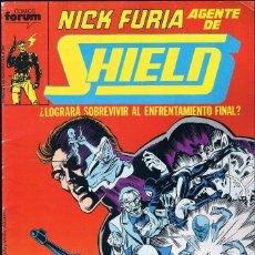 Cómics: NICK FURIA AGENTE DE SHIELD Nº 6 COMICS FORUM 1990. Lote 55883105
