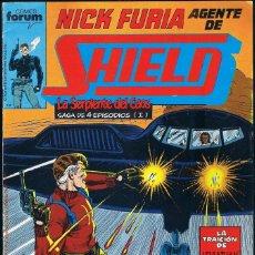 Cómics: NICK FURIA AGENTE DE SHIELD Nº 7 COMICS FORUM 1990. Lote 55883171