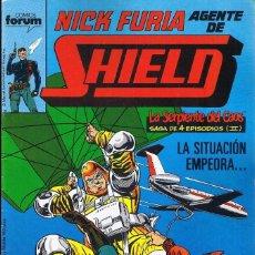 Comics: NICK FURIA AGENTE DE SHIELD Nº 8 COMICS FORUM 1990. Lote 55883200