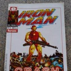Cómics: IRON MAN CRASH -- COMPLETA 2 NUMEROS -- NOVELA GRAFICA -- EPIC PRESENTS : Nº 7 Y 8 -- FORUM --. Lote 55907636