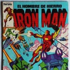 Cómics: IRON MAN VOL 1 Nº 1 / MARVEL / FORUM 1985 (DAVID MICHELINIE & BOB LAYTON). Lote 50644587