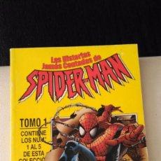 Cómics: LAS HISTORIAS JAMAS CONTADAS DE SPIDERMAN. RETAPADO CON LOS NUMEROS 1 A 5 FORUM.. Lote 56037963