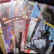 Cómics: CONAN LA LEYENDA LOTE 23 PRIMEROS NUMS. FORUM-PLANETA, 2005 TEBENI COMO NUEVOS. Lote 56038212