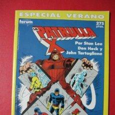 Cómics: FORUM: LA PATRULLA X ESPECIALES 1990: ESPECIAL VERANO Y ESPECIAL INVIERNO. MUY BUEN ESTADO. Lote 56056311