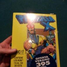 Comics : LA PATRULLA X - TOMO 17 - RETAPADO CON LOS NÚMEROS 116-117-118-119-120 - FORUM (PRECINTADO). Lote 56114415