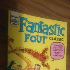 Comics: FANTASTIC FOUR. CLASSIC 2. LA LLEGADA DE NAMOR. BUEN ESTADO. CARTONÉ. TOMO. . Lote 56131504