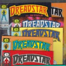 Cómics: DREADSTAR /POR: JIM STARLIN - LOTE DE 14 EJEMPLARES SEGUNDA EDICION. Lote 56148304