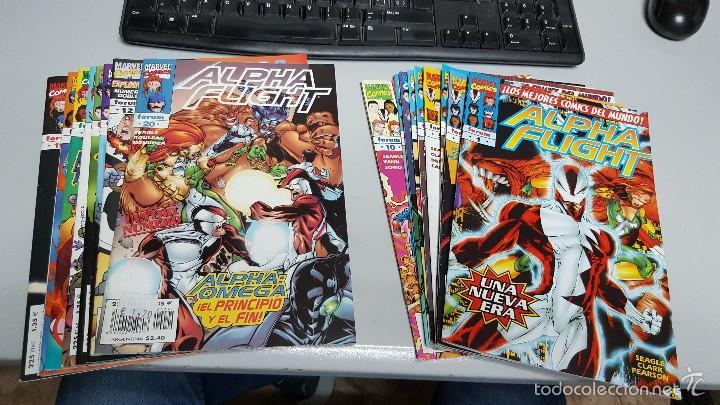 ALPHA FLIGHT VOL 2 ¡ COMPLETA 20 NUMEROS ! MARVEL FORUM (Tebeos y Comics - Forum - Alpha Flight)