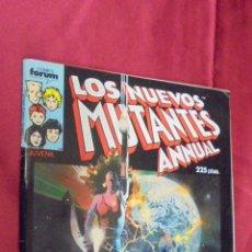 Cómics: LOS NUEVOS MUTANTES ANNUAL. ESPECIAL PRIMAVERA. FORUM.. Lote 56185788