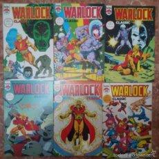 Cómics: WARLOCK CLASSIC. COLECCION COMPLETA. 6 NUMEROS DOBLES FORUM. JIM STARLIN. . Lote 56189139