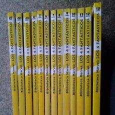 Cómics: BIBLIOTECA MARVEL EXCELSIOR -- LOS 4 FANTASTICOS - LOTE DE 16 NUMEROS -- MARVEL / FORUM --. Lote 56308485