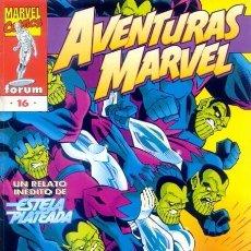 Cómics: AVENTURAS MARVEL VOL.1 Nº 16 - FORUM. ESTELA PLATEADA. SILVER SURFER.. Lote 56336197