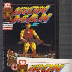 Cómics: IRON MAN CRASH - SERIE COMPLETA EN 2 EJEMPLARES. Lote 56390194