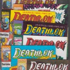 Cómics: DEATHLOK - COLECCION COMPLETA DE 16 EJEMPLARES MAS Nº ESPECIAL ( A FALTA DE Nº 15 ). Lote 56392185
