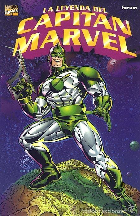 LA LEYENDA DEL CAPITAN MARVEL - TOMO FORUM (Tebeos y Comics - Forum - Prestiges y Tomos)