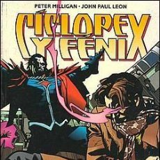 Cómics: CICLOPE Y FENIX: MISTER SINIESTRO (PETER MILLIGAN / JOHN PAUL LEON) - PLANETA. Lote 143652977