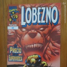 Cómics: COMIC LOBEZNO SERIE REGULAR GRAPA FORUM VOLUMEN 2 NUMERO 41 (1999). Lote 56517784