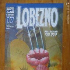 Cómics: COMIC LOBEZNO SERIE REGULAR GRAPA FORUM VOLUMEN 3 NUMERO 17 (2004). Lote 56519093