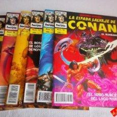 Cómics: LOTE LA ESPADA SALVAJE DE CONAN Nº 32,33,34 Y 35 / SEGUNDA EDICIÓN / PRECIO POR CADA NÚMERO. Lote 83412922