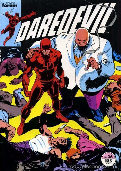 DAREDEVIL VOLUMEN 1 NUMERO 36 FORUM. (Tebeos y Comics - Forum - Daredevil)