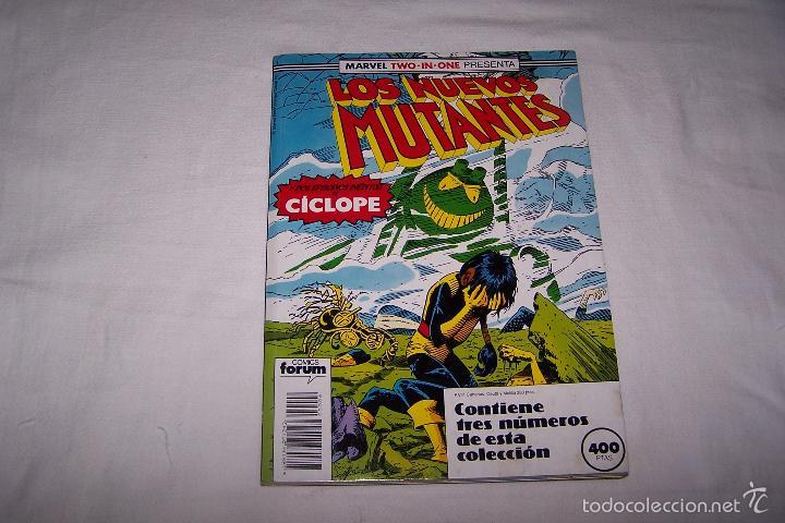 RETAPADO LOS NUEVOS MUTANTES. NÚMEROS 51, 52 Y 53. COMICS FORUM. (Tebeos y Comics - Forum - Nuevos Mutantes)