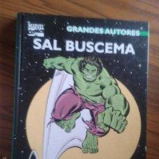 Cómics: LA MASA- HULK. SAL BUSCEMA. GRANDES AUTORES. PASTA DURA. BUEN ESTADO. Lote 56656182