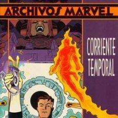 Cómics: ARCHIVOS MARVEL 4 FANTASTICOS CORRIENTE TEMPORAL (WALT SIMONSON) - PLANETA. Lote 56717137