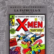 Cómics: MARVEL MASTERWORKS: LA PATRULLA-X Nº 01: 1963 - 1964. Lote 56728689