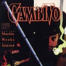 Cómics: GAMBITO - TOMO (HOWARD MACKIE / LEE WEEKS / KLAUS JANSON) - PLANETA - IMPECABLE PRECINTADO. Lote 180029507