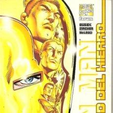 Cómics: IRON MAN LA EDAD DEL HIERRO (BUSIEK / ZIRCHER / MCLEDO) - PLANETA - COMO NUEVO. Lote 145728525