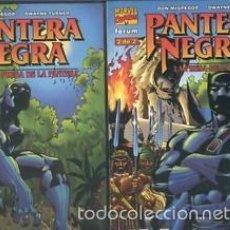 Cómics: PANTERA NEGRA LA PRESA DE LA PANTERA TOMOS 1 Y 2 COMPLETA - PLANETA - IMPECABLE. Lote 113633859