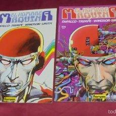 Cómics: EL HOMBRE MAQUINA I Y II. SAGA COMPLETA. DOS TOMOS. Nº 11 Y 13. FORUM.. Lote 56806577