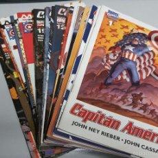 Cómics: CAPITAN AMERICA VOL. 5 ¡ LOTE 22 NUMEROS ! MARVEL - FORUM. Lote 56817921