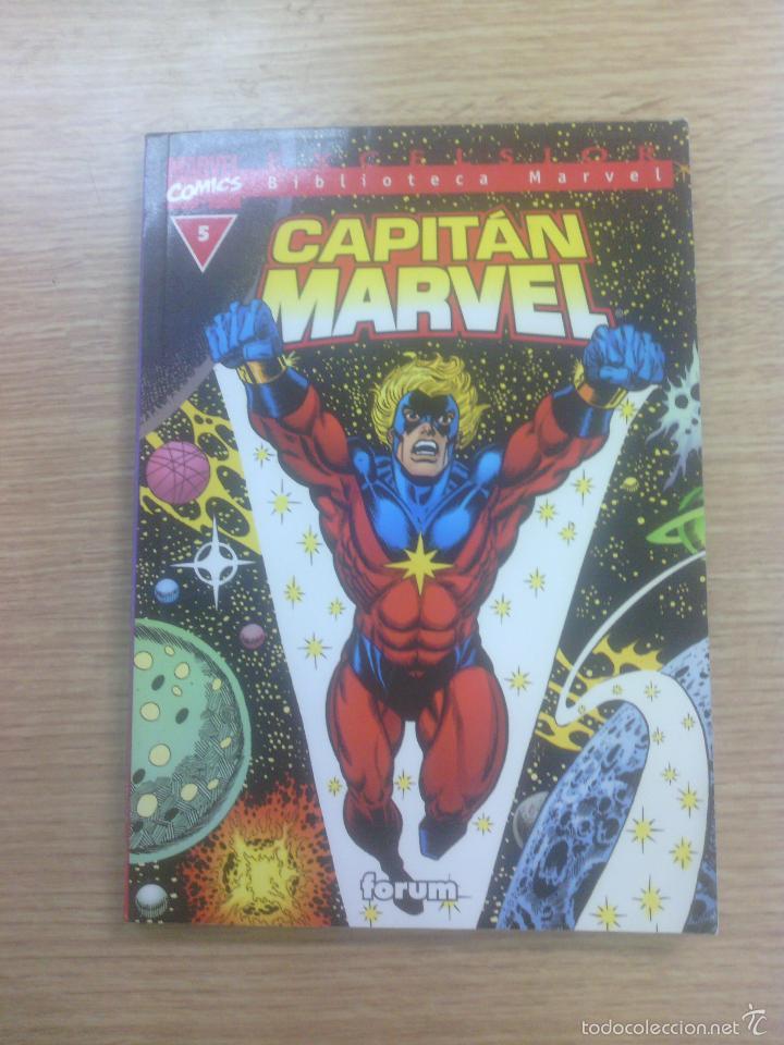 BIBLIOTECA MARVEL CAPITAN MARVEL #5 (Tebeos y Comics - Forum - Otros Forum)