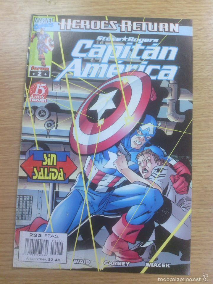 CAPITAN AMERICA VOL 4 #2 (Tebeos y Comics - Forum - Capitán América)