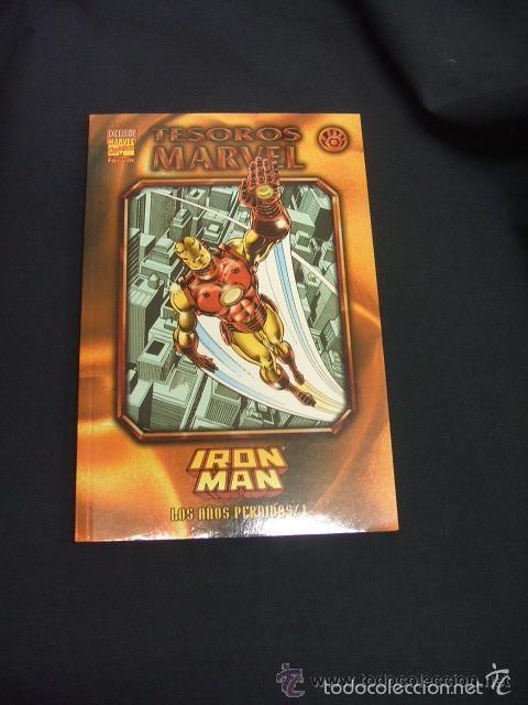 TESOROS MARVEL Nº 7 IRON MAN: LOS AÑOS PERDIDOS 1 - IMPECABLE (Tebeos y Comics - Forum - Iron Man)