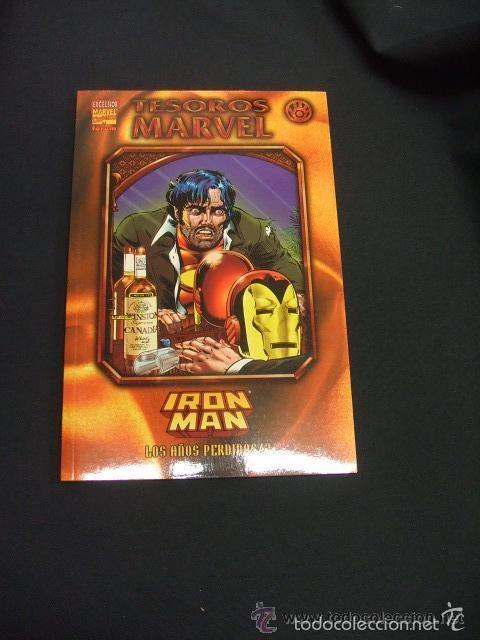 TESOROS MARVEL Nº 8 IRON MAN: LOS AÑOS PERDIDOS 2 - IMPECABLE (Tebeos y Comics - Forum - Iron Man)