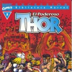 Cómics: THOR Nº2. EXCELSIOR. BIBLIOTECA MARVEL. FORUM, 2001 . Lote 56967589